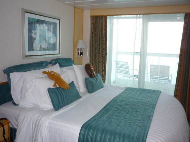 Our cabin on the cruise