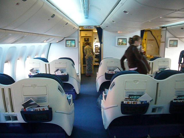 Class Plane Plane Golden Club Class
