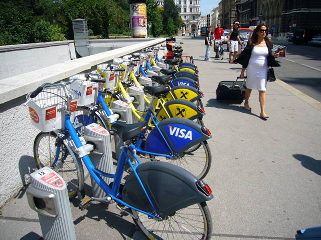 Bikes Vienna Self serve bike rental