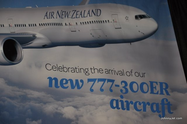 Air New Zealand's New 777-300ER Photos
