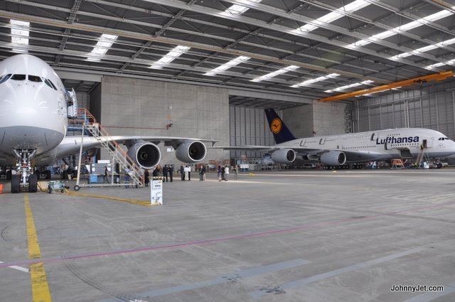 Lufthansa A380 Maintenance