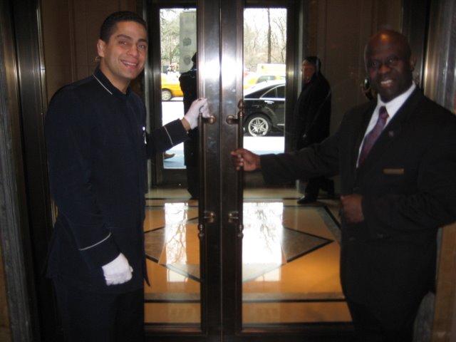 Doormen at the Ritz-Carlton New York Photos