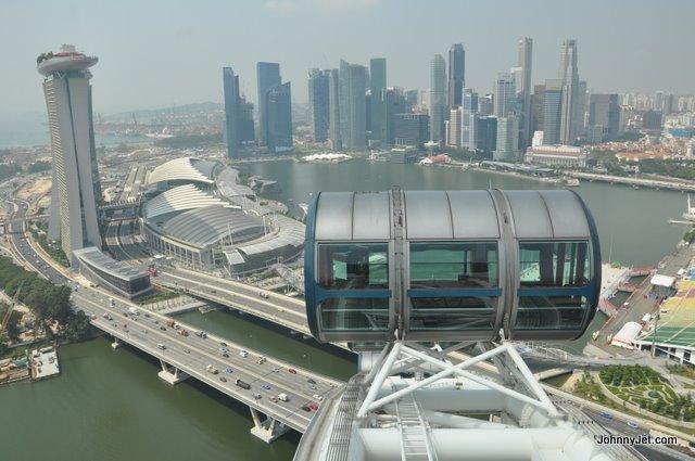 Singapore flyer photos